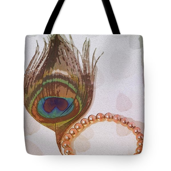 Fortune Assets Of Lord Krishna Tote Bag