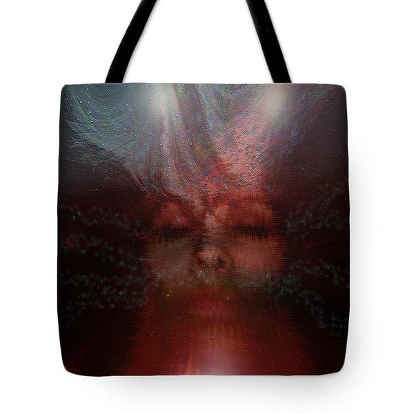 Fortune Teller Tote Bag by Linda Sannuti