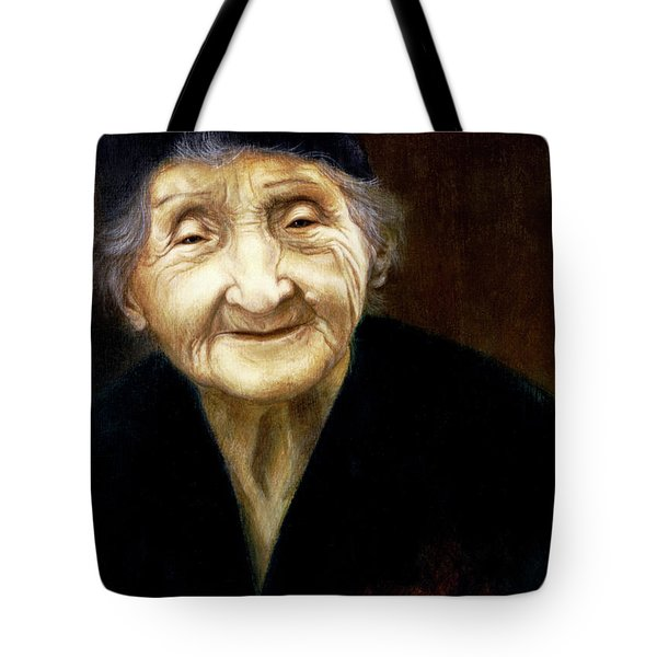 Fortune Teller Tote Bag by Yvonne Wright