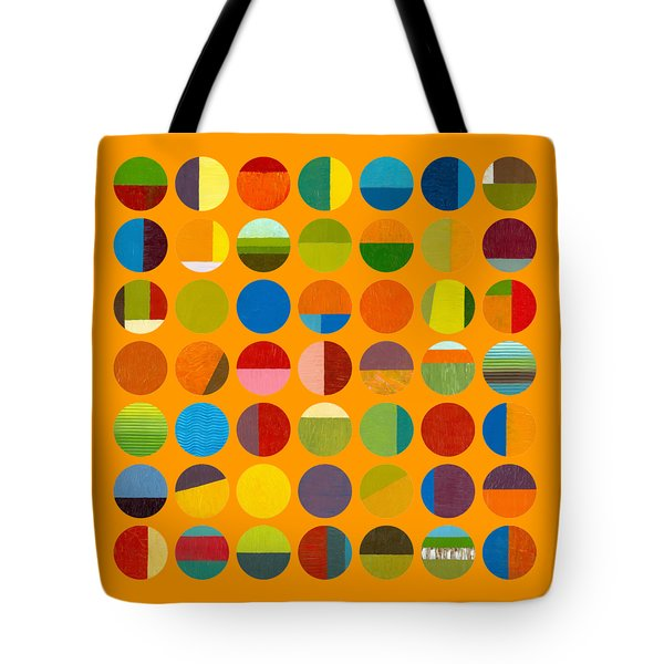 Forty Nine Circles Tote Bag