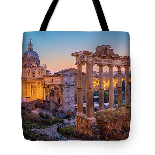 Forum Romanum Dawn Tote Bag