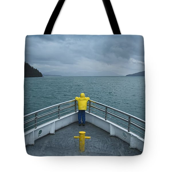 Forward Lookout Tote Bag