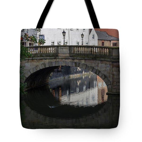 Foss Bridge - York Tote Bag