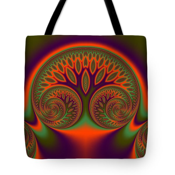 Tote Bag featuring the digital art Fosseshold by Andrew Kotlinski