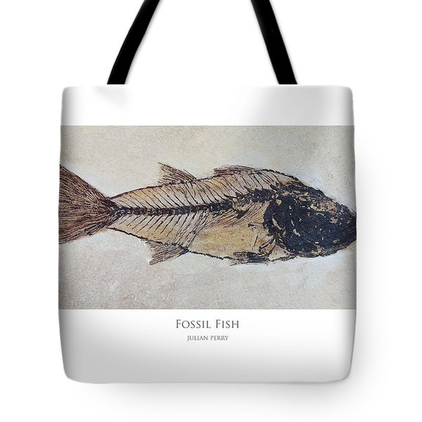 Fossil Fish Tote Bag