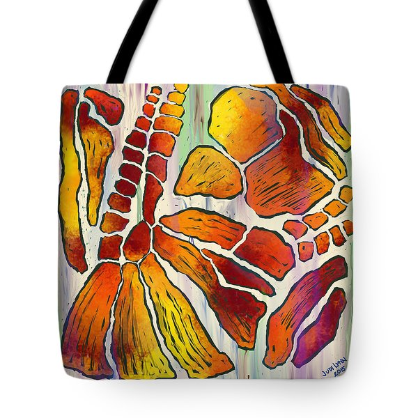 Fossil Fuel Tote Bag by The Art Of JudiLynn