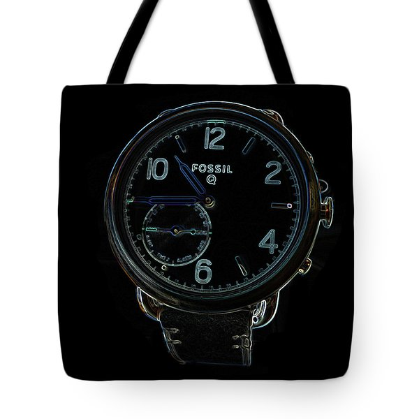 Fossil Q 3 Tote Bag by Bruce Iorio
