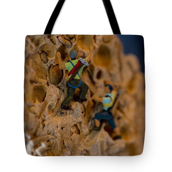 Fossil Rock Climbing Tote Bag