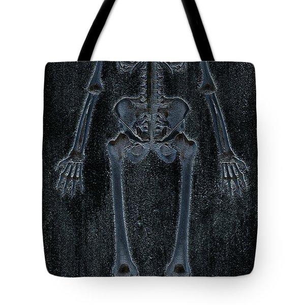 Fossilized Skeleton Tote Bag