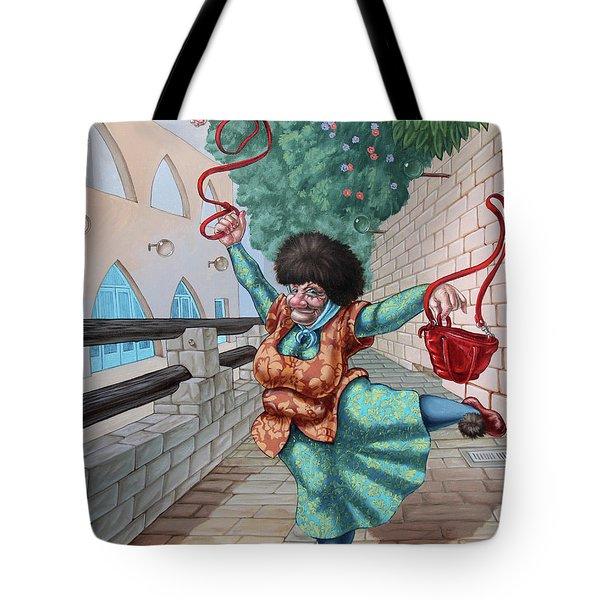 Fouette Tote Bag