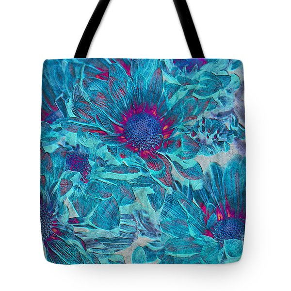 Foulee De Petales - A01t Tote Bag by Variance Collections