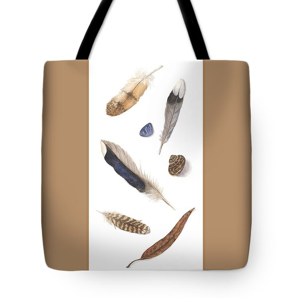 Found Treasures Tote Bag by Lucy Arnold