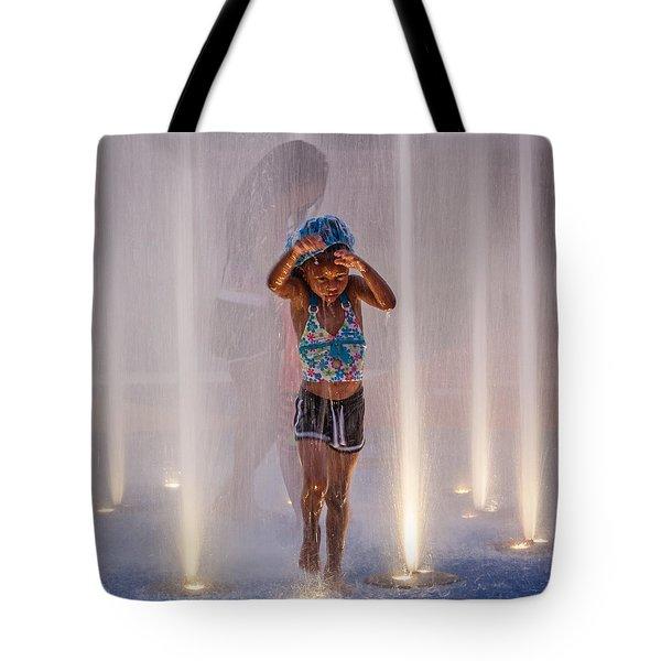 Fountain Fun Tote Bag