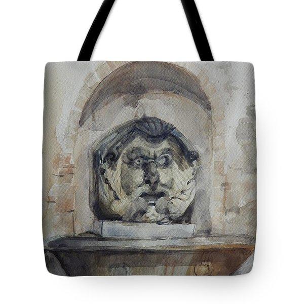 Fountain In Rome Tote Bag
