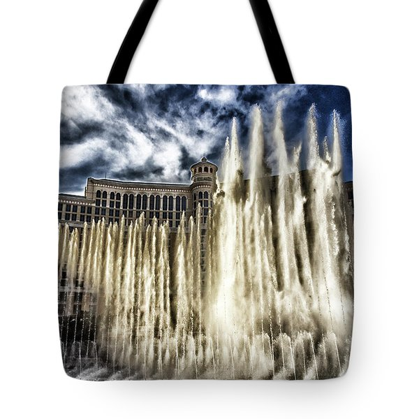 Tote Bag featuring the photograph Fountain Of Love by Michael Rogers