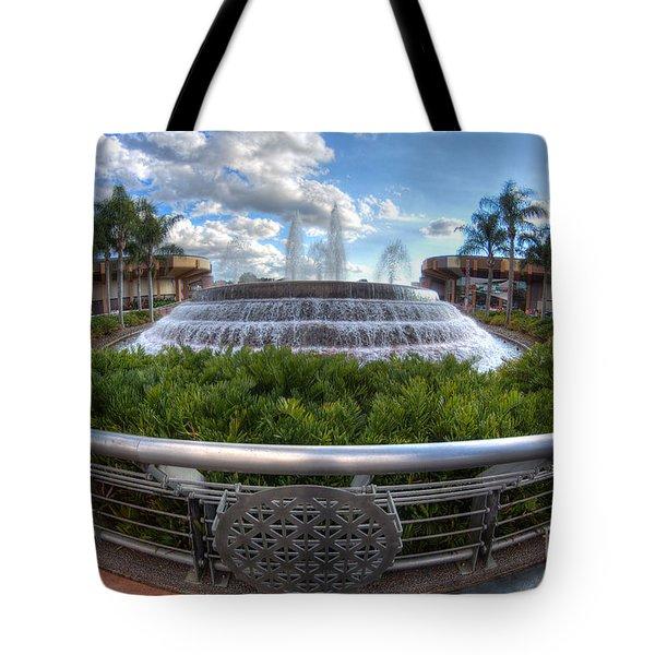 Fountain Of Nations Tote Bag