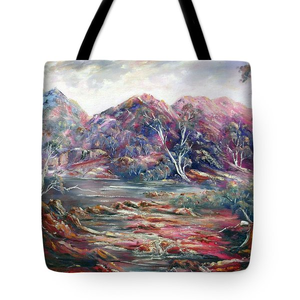 Fountain Springs Outback Australia Tote Bag