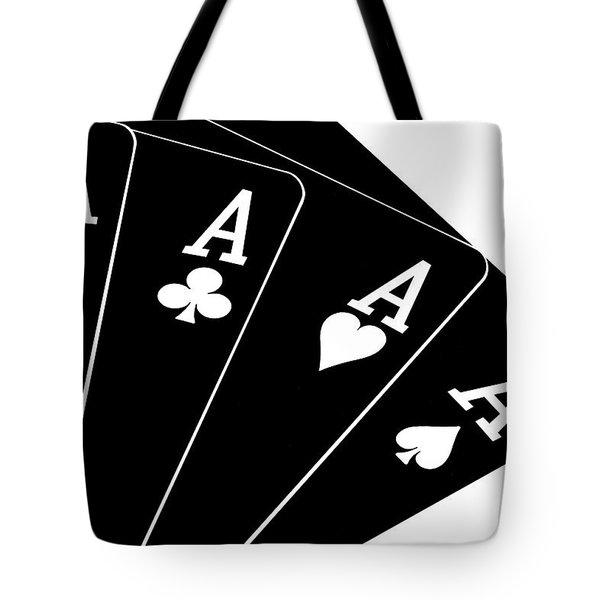Four Aces II Tote Bag by Tom Mc Nemar