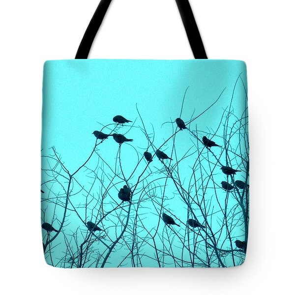 Four And Twenty Blackbirds Tote Bag