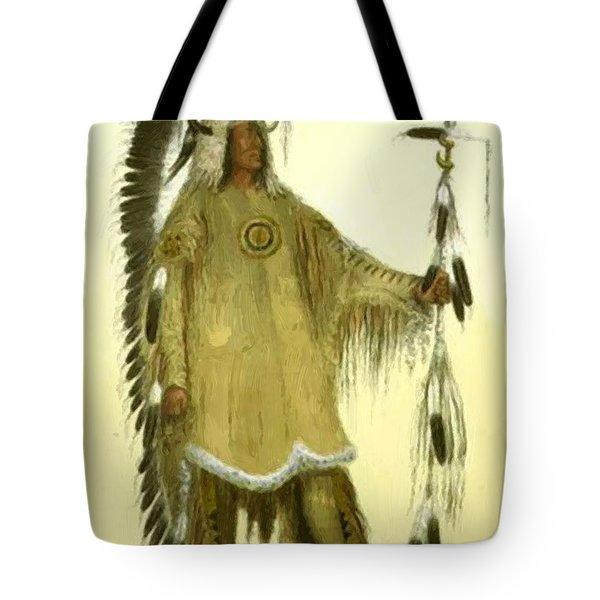 Four Bears Mandan Chief 1833 Tote Bag