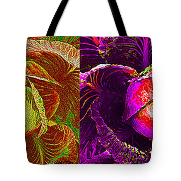 Four Cabbage  Tote Bag