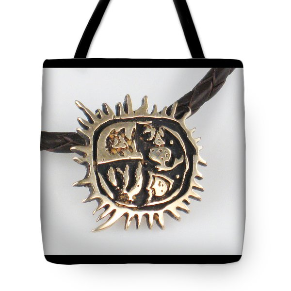 Four Cardinal Directions Del Sol Tote Bag