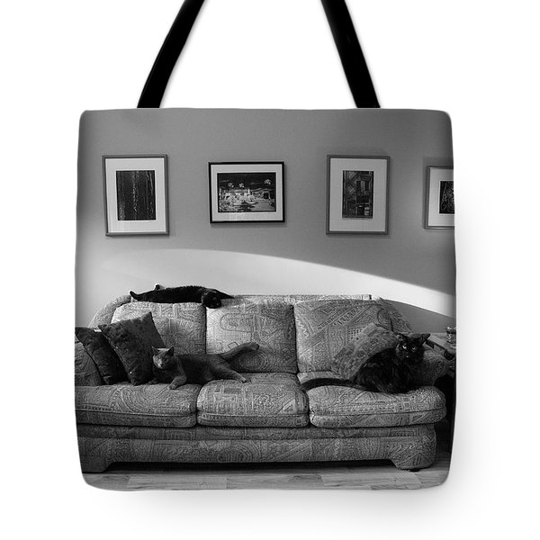 Four Cats Tote Bag