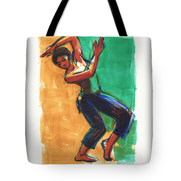 Four Colors Movement Tote Bag