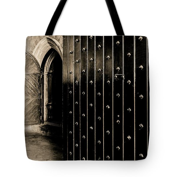 Four Doors To Choose Tote Bag