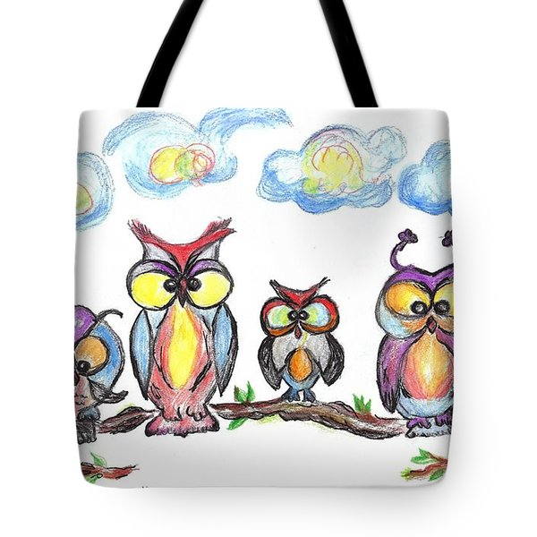 Four Friends  Tote Bag
