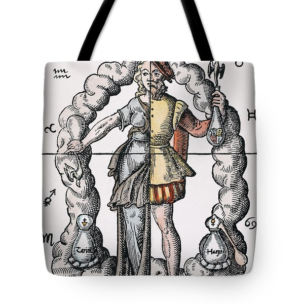 Four Humors Tote Bag by Granger