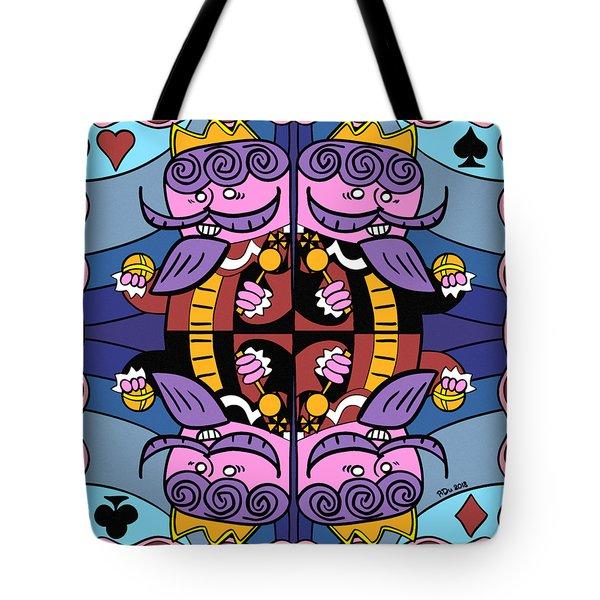 Four Kings Tote Bag