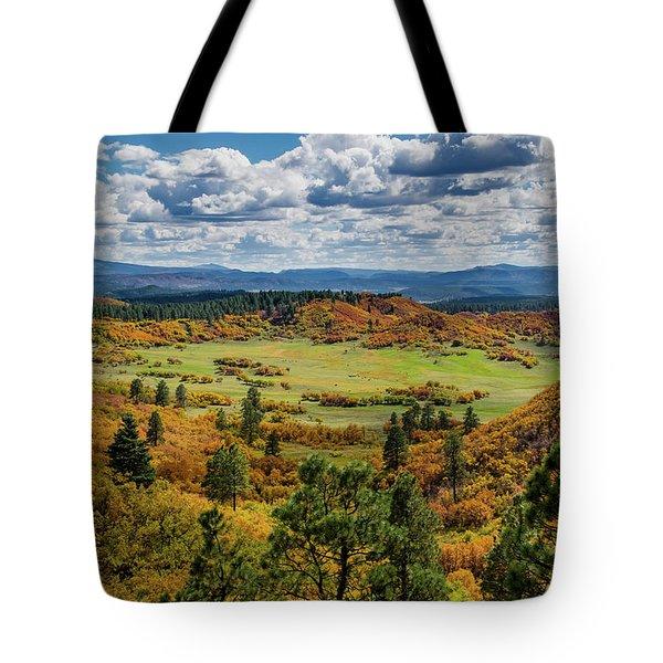 Four Mile Road Peak Color Tote Bag
