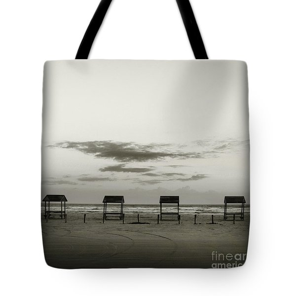 Four On The Beach Tote Bag