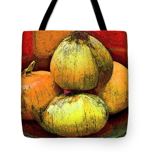 Four Onions  Tote Bag