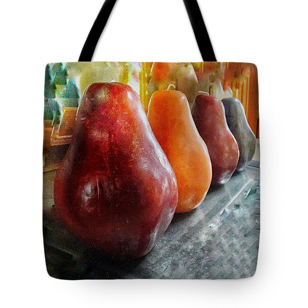 Four Pear Tote Bag