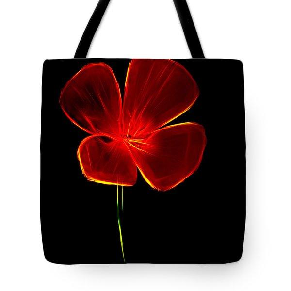 Four Petals Tote Bag by Steven Parker