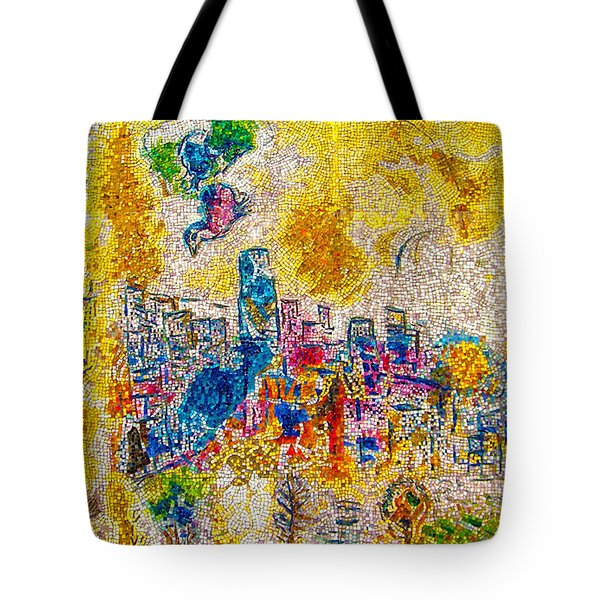 Tote Bag featuring the photograph Four Seasons Chagall by Kyle Hanson