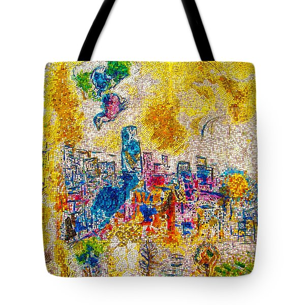 Four Seasons Chagall Tote Bag