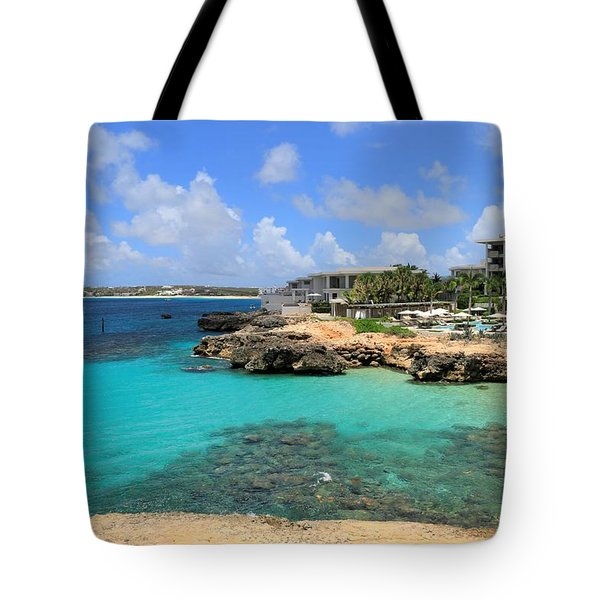 Four Seasons Hotel In Anguilla Tote Bag