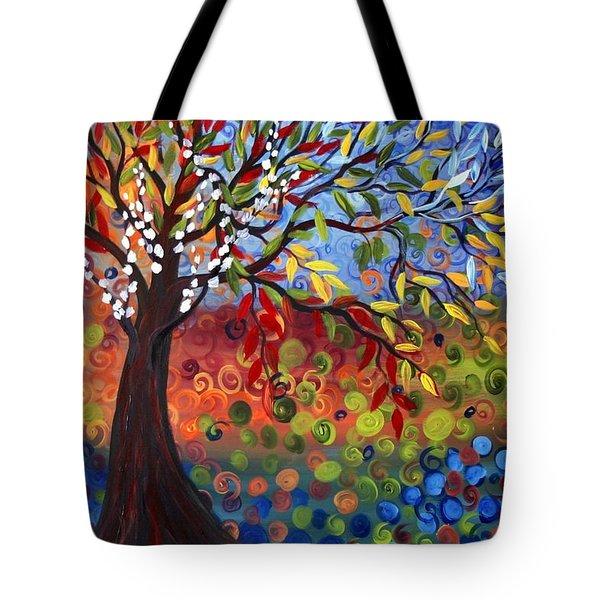 Four Seasons Tote Bag by Luiza Vizoli