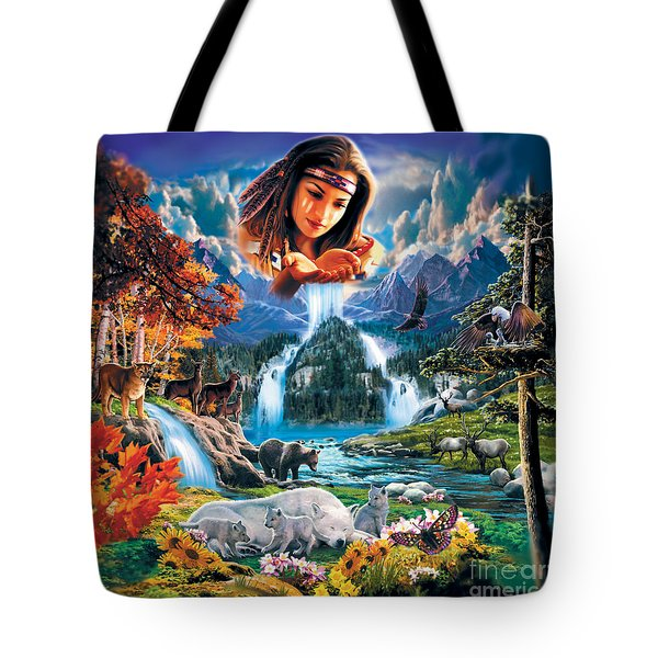 Four Seasons Tote Bag by Robin Koni