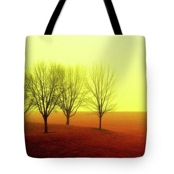 Four Trees Tote Bag