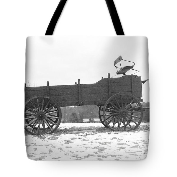 Tote Bag featuring the digital art Four Wheel Drive by Barbara S Nickerson
