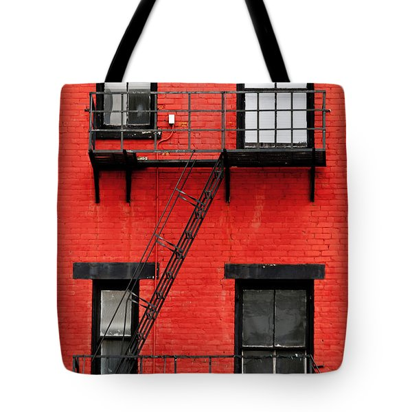 Four Windows Tote Bag