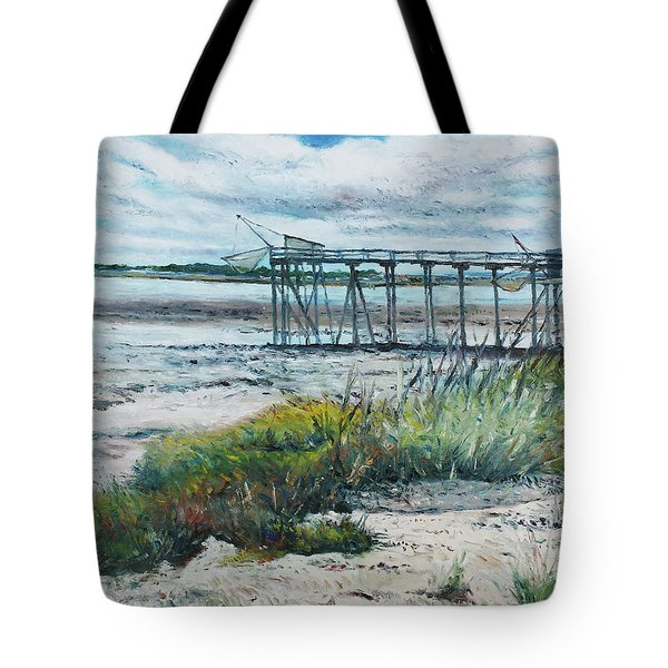 I'le Madame Fouras La Rochelle France 2016 Tote Bag by Enver Larney