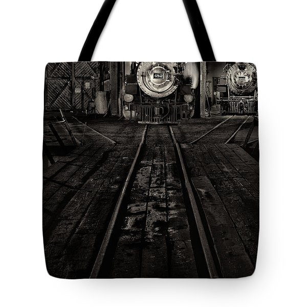Foureightytwo B And W Version Tote Bag