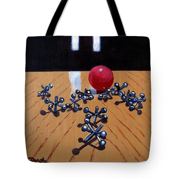 Foursies Tote Bag