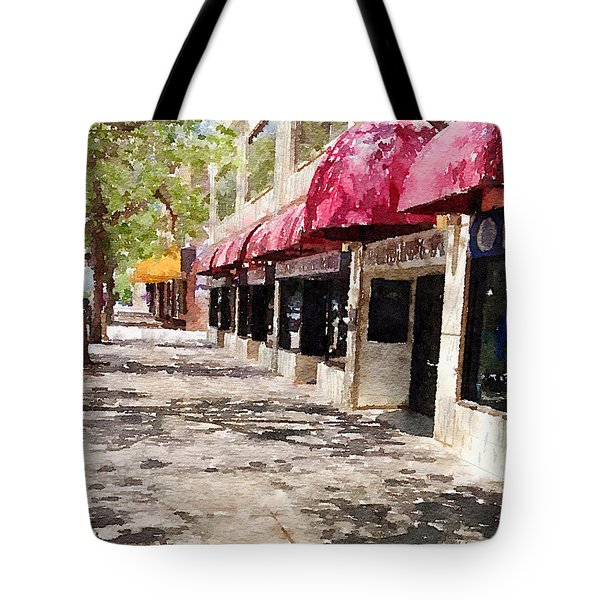 Fourth Avenue Tote Bag