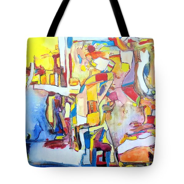 Fourth World Ladders Tote Bag